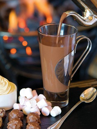 Le Marche's creamy Hot Chocolate