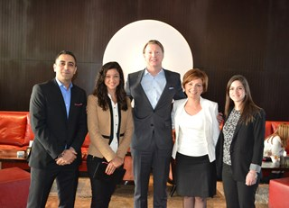 FAIRMONT HELIOPOLIS & TOWERS  HOSTS ERICSSON TOP EXECUTIVES MEETING