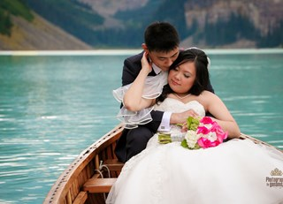 Romantic Wedding at the Fairmont Chateau Lake Louise