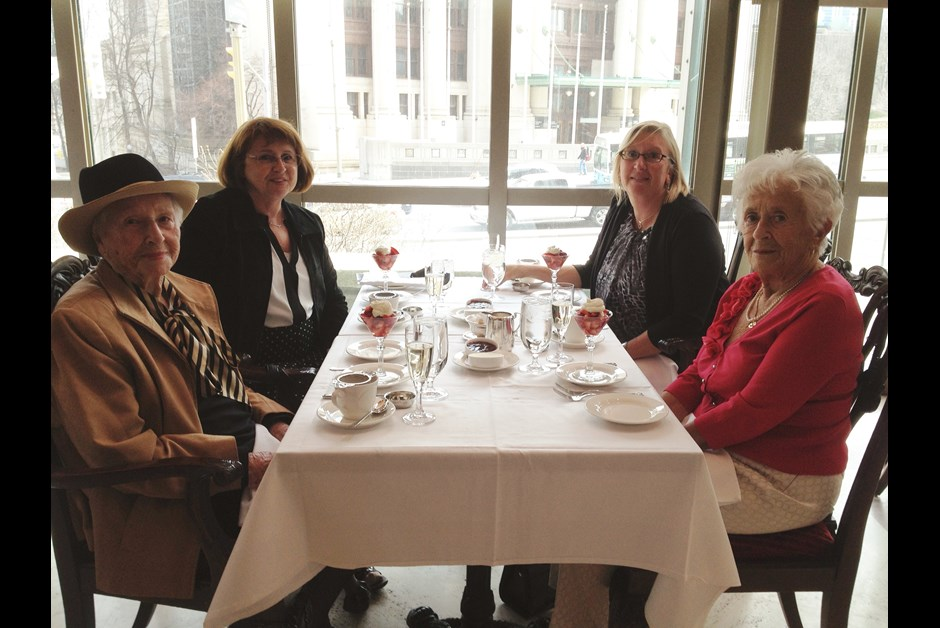 Celebrating 100 Years With High Tea At The Chateau