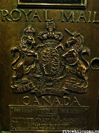Mail at the Palliser