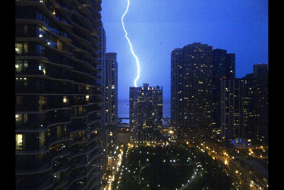 Stormy Night in Chicago