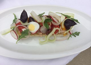 Niçoise Salad by Chef Sebastien Giannini
