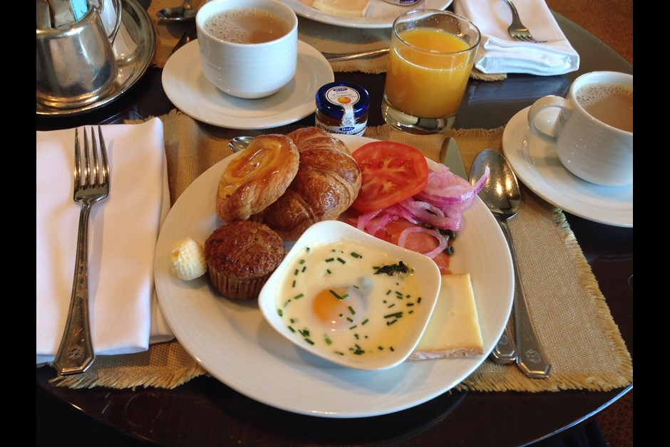 Breakfast at Fairmont Queen Elizabeth