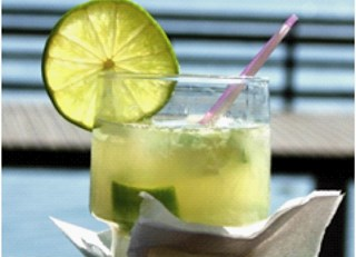 A Taste of the World in your Cup ~ Aria Bar's Caipirinha Recipe