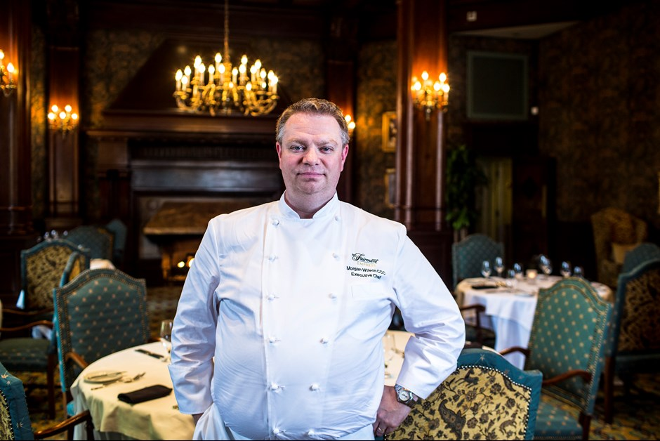 Meet Executive Chef Morgan Wilson of Fairmont Empress