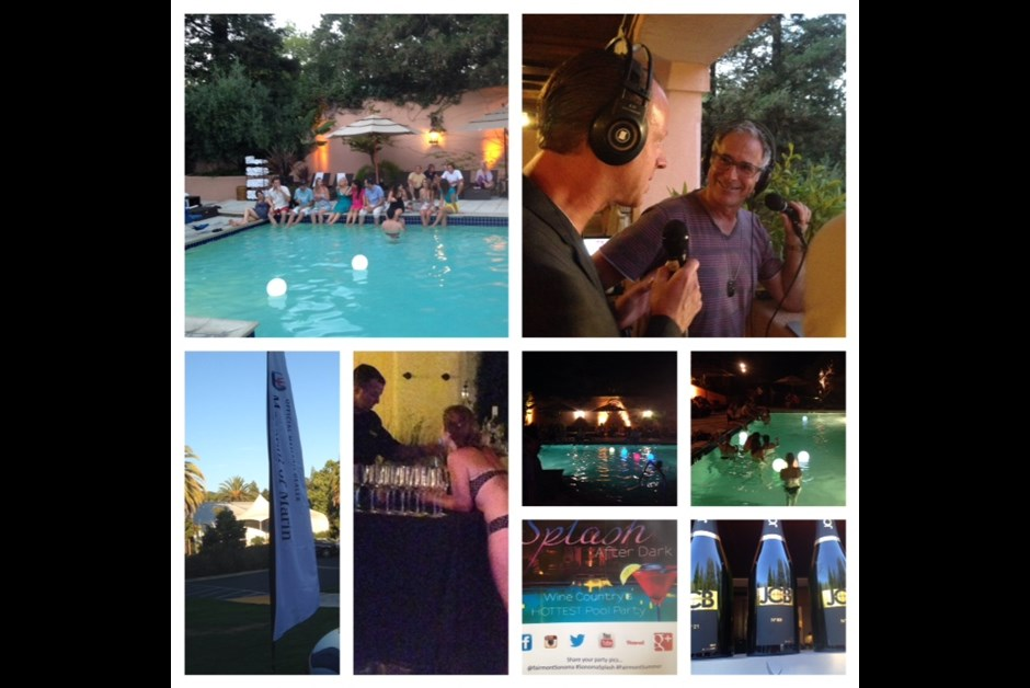 SPLASH, AFTER DARK!  Wine Country's Hottest Summer Party Series