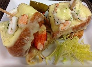 Lobster & Prawn Grilled Cheese