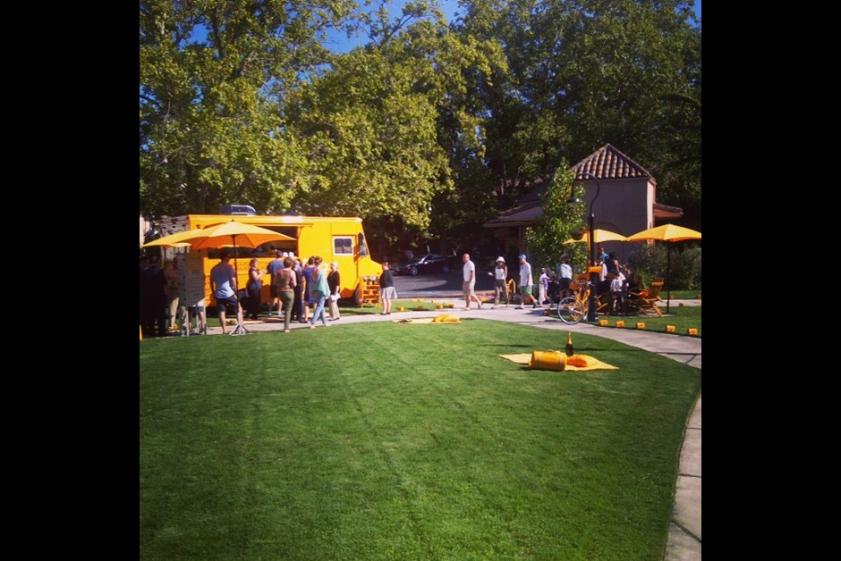 Veuve Clicquot Mail Truck Detours in California Wine Country
