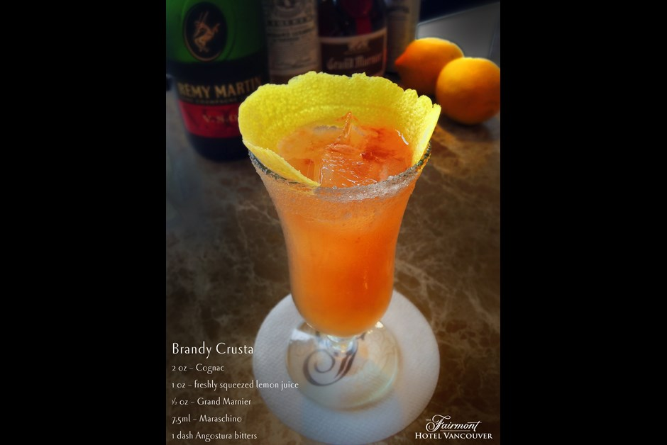 Classic Cocktail Collection: Brandy Crusta