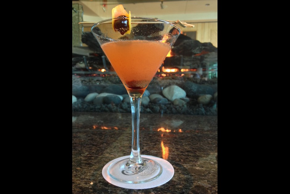 Pumpkin Spiced Orchard Martini