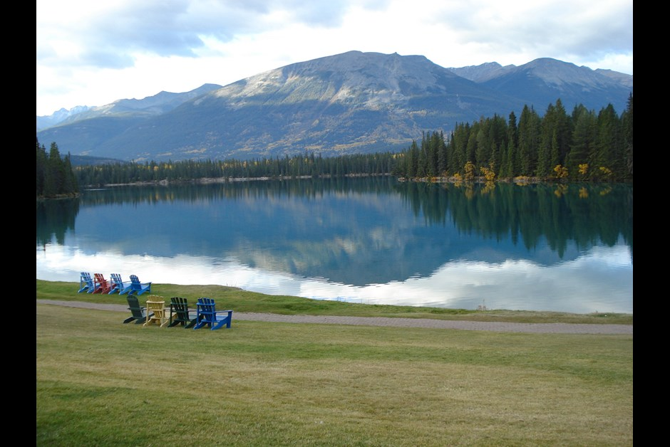 Early Autumn at Fairmont Jasper Park Lodge