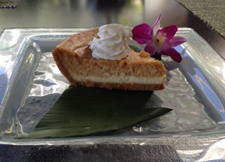 Upcountry Pumpkin Cheesecake