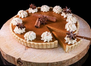 Spiced Maple Pumpkin Pie