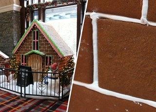 Banff Springs Gingerbread Cookies