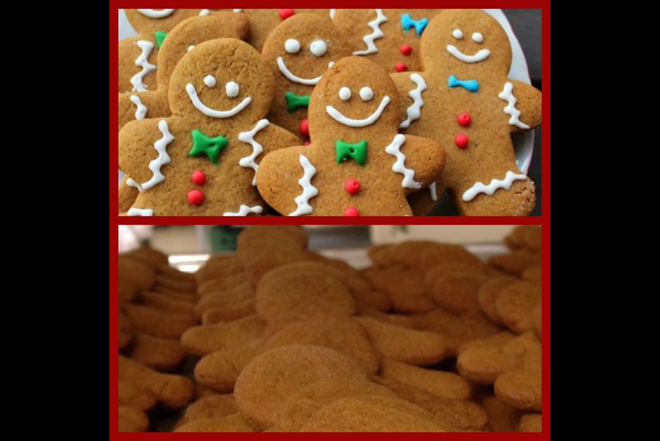 Holiday Gingerbreadmen Cookies