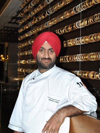 Executive Chef Manpreet Singh Malik at Fairmont Jaipur