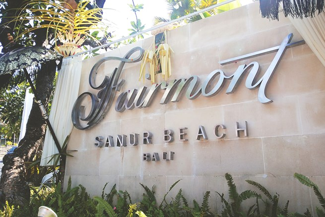 Fairmont Hotels & Resorts Checks in to Bali