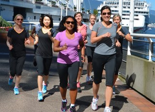 Fairmont Waterfront's Downtown RunVan Club