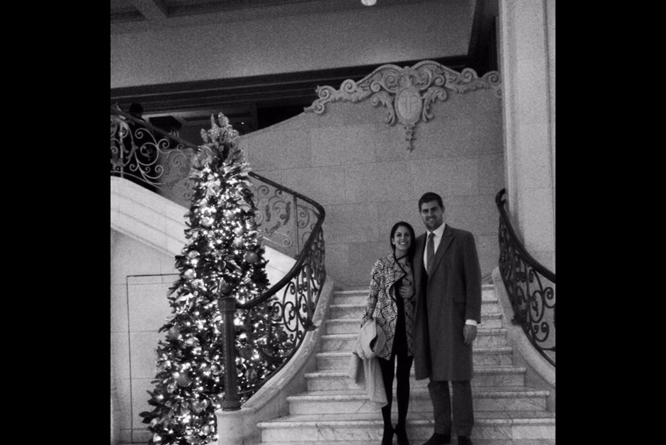 Engaged at the Plaza Hotel Central Park NYC