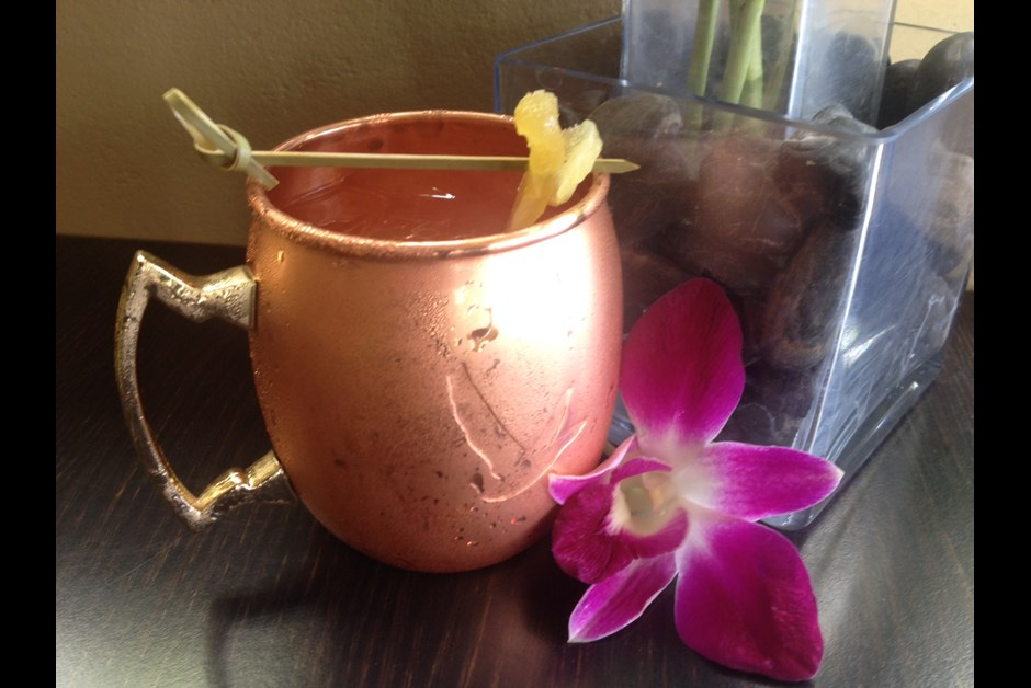 Ko's Molokai Mule Cocktail