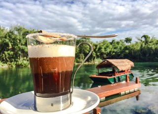 Warm up  with a Café Maya (Mayan coffee)