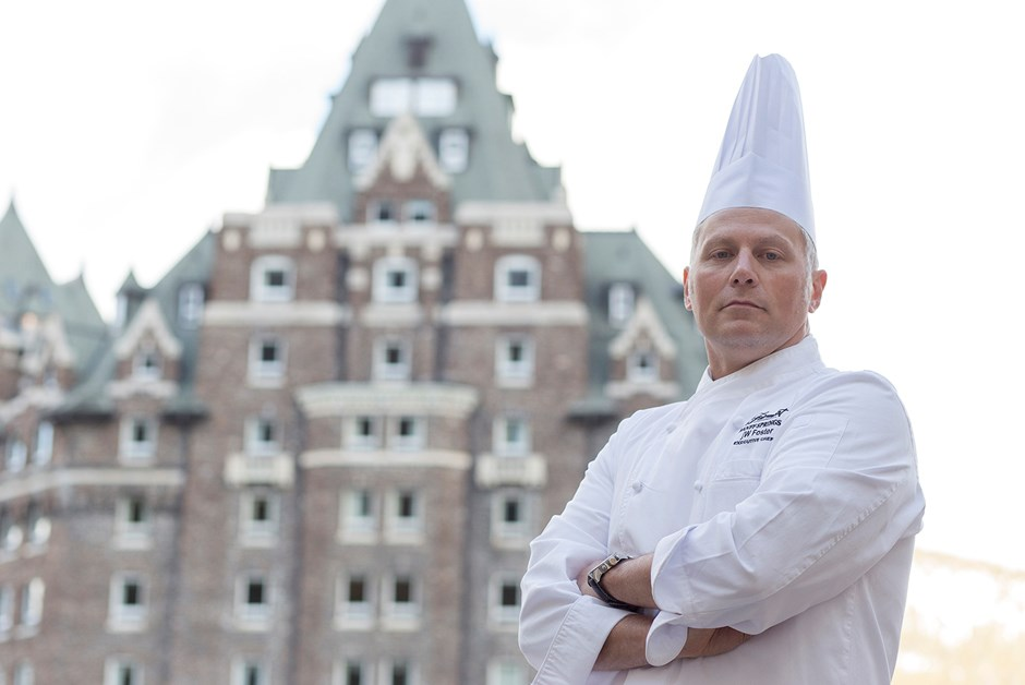 Meet Executive Chef jW Foster of the Fairmont Banff Springs