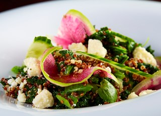 Quinoa Kale & Watercress Salad
