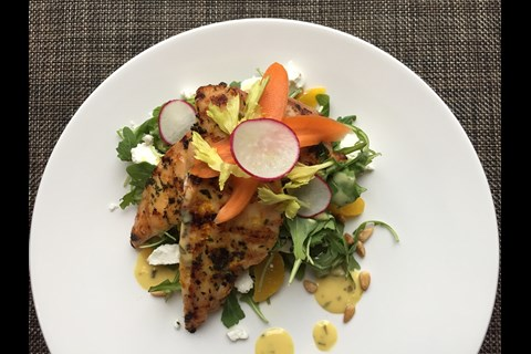 Chicken Paillard With Herb Dressing Fairmont Moments