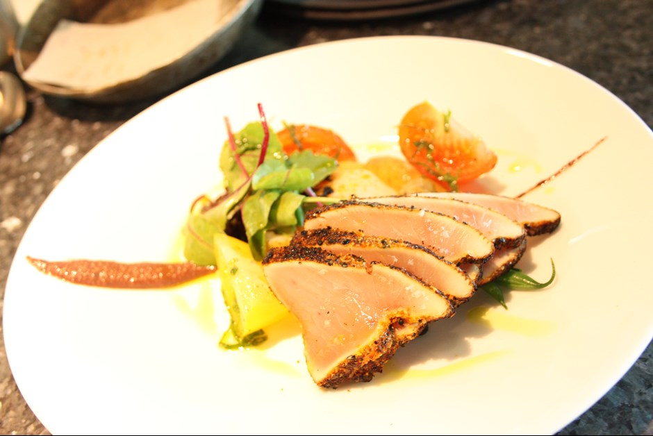 Seared Albacore Tuna Nicoise