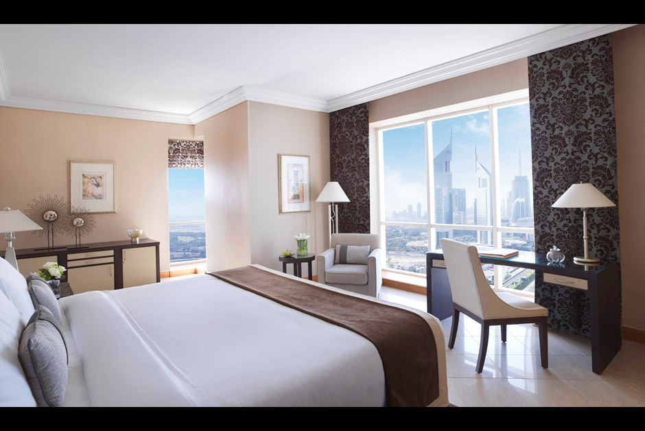 Fairmont Dubai View rooms
