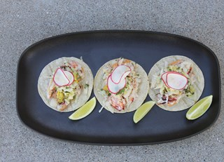 Dungeness Crab Tacos With Pickled Fennel & Chipotle Aioli