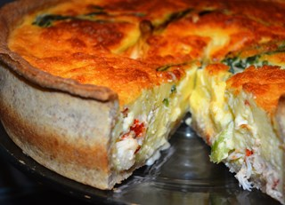 Ramp & Lobster Quiche