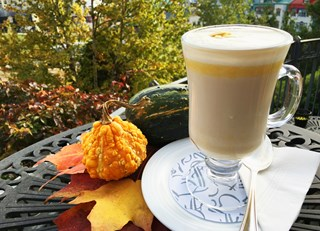 Pumpkin-port latté