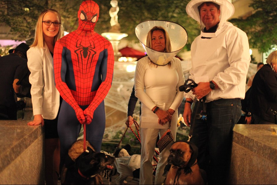 The Fourth Annual Howl-O-Ween Trick or Treating for Dogs at Fairmont 3