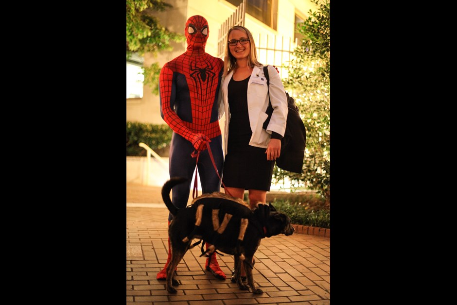 The Fourth Annual Howl-O-Ween Trick or Treating for Dogs at Fairmont 15