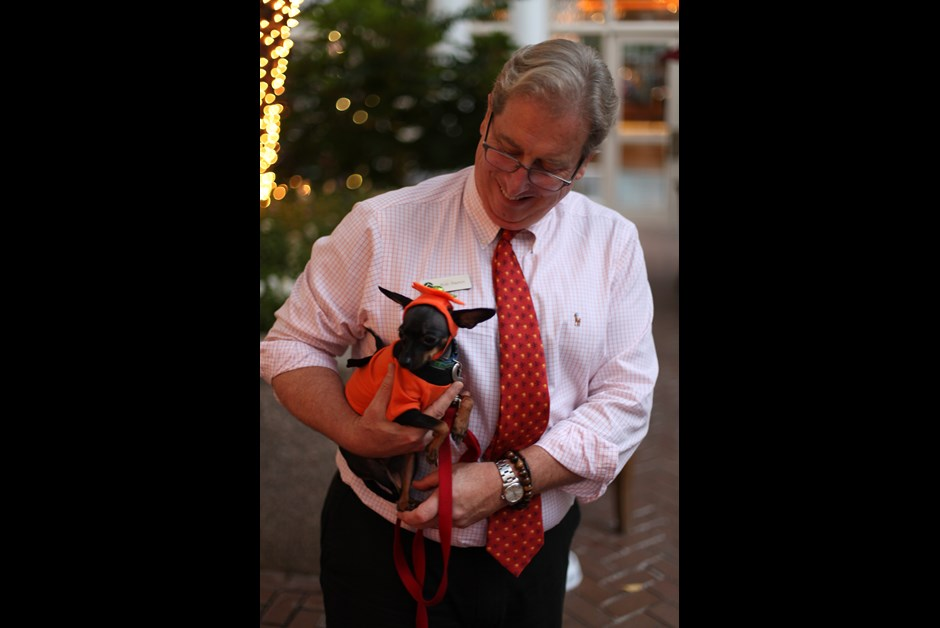 The Fourth Annual Howl-O-Ween Trick or Treating for Dogs at Fairmont 10