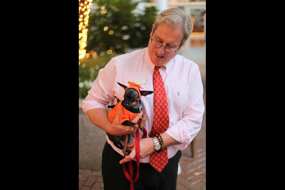 The Fourth Annual Howl-O-Ween Trick or Treating for Dogs at Fairmont 9