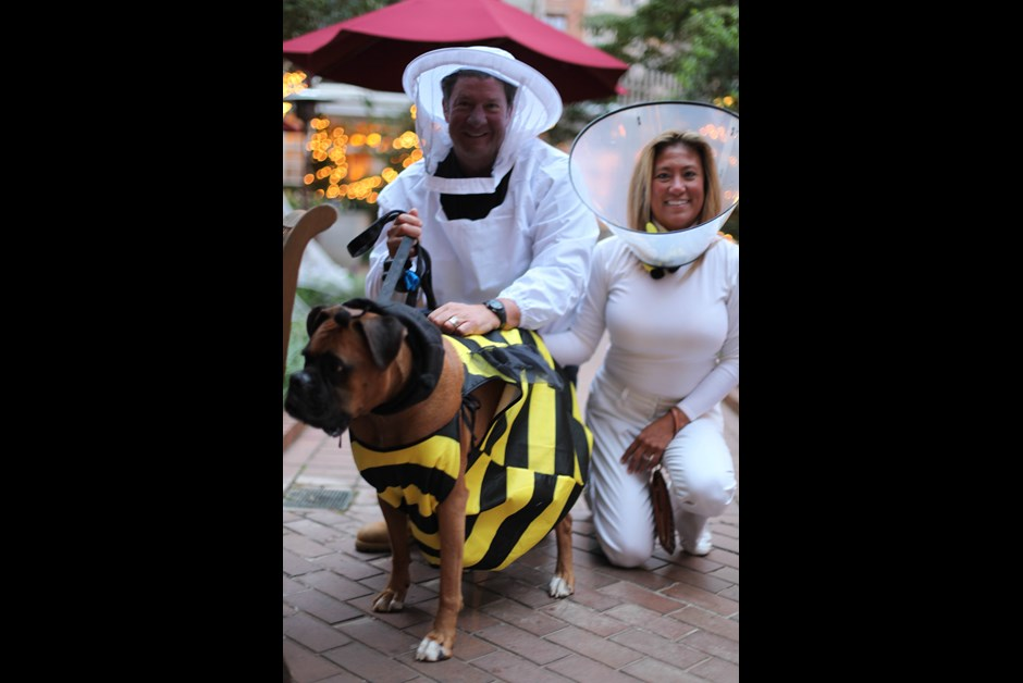 The Fourth Annual Howl-O-Ween Trick or Treating for Dogs at Fairmont