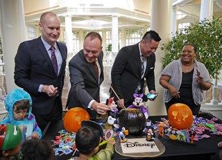 Fairmont Colleagues' Pumpkin Carving Contest