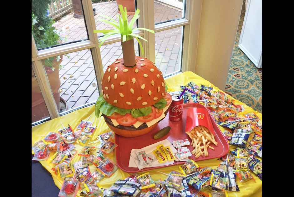 The Winning Pumpkin: The Crabby Patty