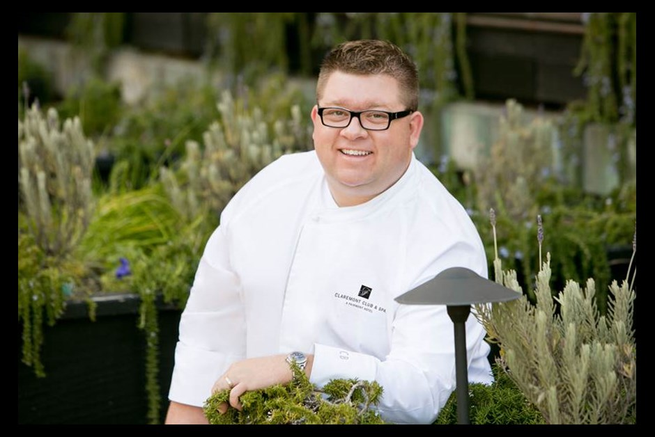 Meet Executive Chef Chad Blunston of Claremont Club & Spa, A Fairmont Hotel