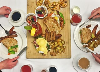 The VG Restaurant Easter Breakfast Platter