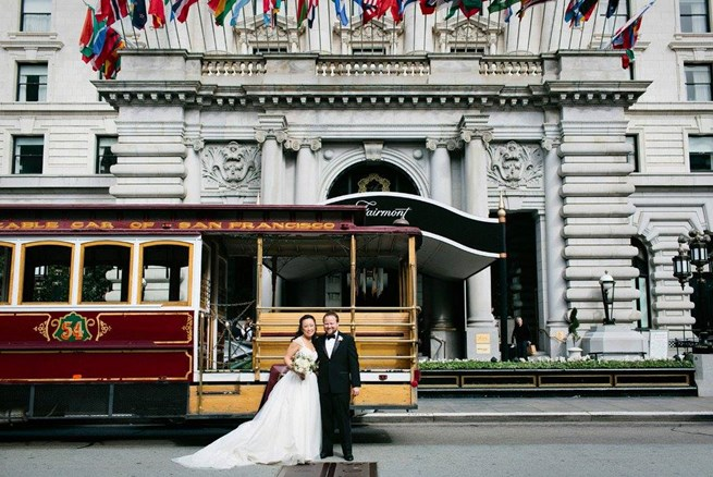 Doug & Joanne's Fairmont San Francisco Wedding
