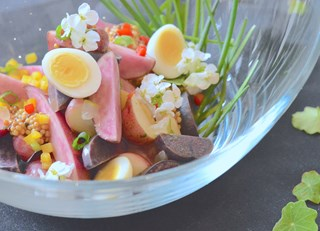 Rainbow Potato Salad