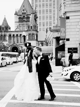 Courtney & Warren's Classic Boston Wedding