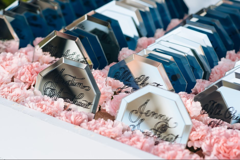 Escort cards - GLDN Events