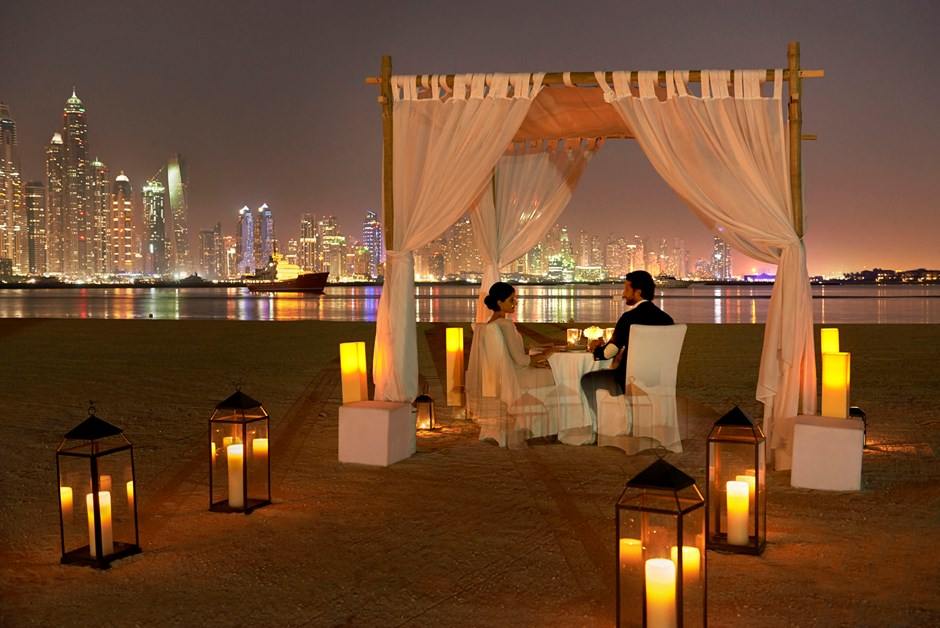 A romantic occasion celebrated at Fairmont The Palm