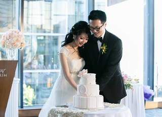 Allan & Amy's Fairmont Pacific Rim Wedding