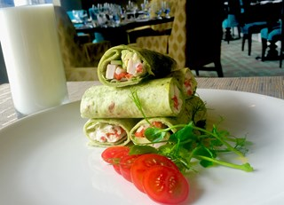 Mini Chicken Wrap Stack
